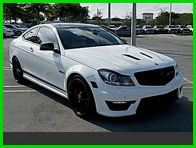 2014 Mercedes-Benz C-Class C63 AMG® 2014 C63 AMG Used Certified 6.2L V8 32V Automatic Rear Wheel Drive Coupe LCD