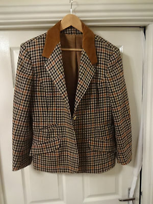 Ladies Country Vintage Gorray Size 16  Hacking Riding Country Hunting Jacket