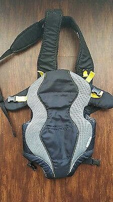 Evenflo Breathable Baby Carrier Yellow Koi pattern