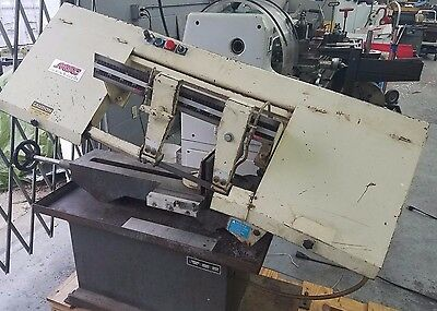 "Horizontal Bandsaw MSC MH-916JR-1 - 9 x 14-1/2"" Max Capacity,Manual Geared Head"