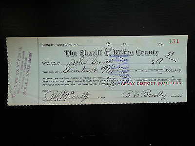 West Virginia - The Sheriff of Roane Counti 1929