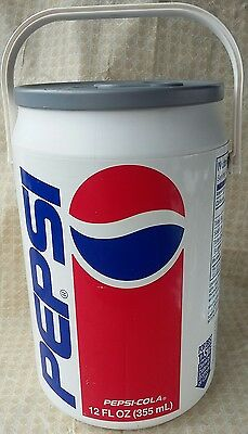Large Pepsi Can Cooler Trash Can Recycling Bin