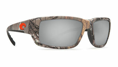 6ecc9a9a18a Costa Del Mar FANTAIL 580P Sunglasses REALTREE Camo Silver Mirror Lens  TF69OSCP