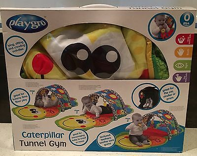 Playgro Caterpillar Tunnel Activity Baby Gym
