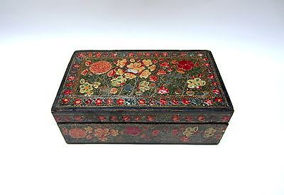 Antique Kashmiri Wooden Box--Islamic/Indian/Persian/Middle East