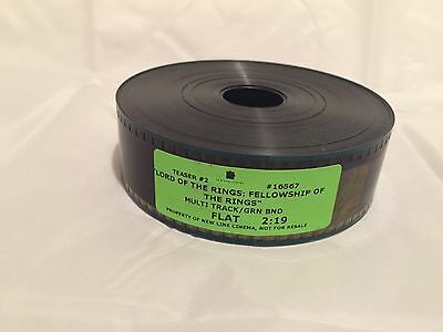 Lord Of The Rings Teaser Trailer 35mm Never Played