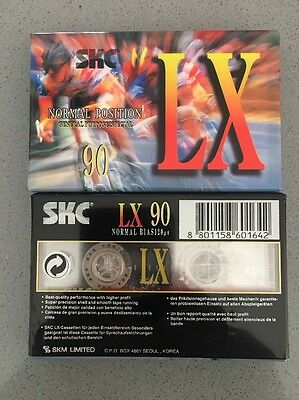 2 X SKC LX New Blank Audio Cassette 90
