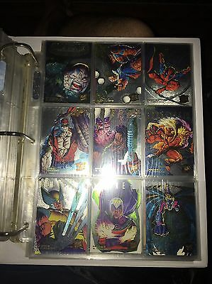 1995 Fleer Ultra X-Men Gold+Silver+ Rainbow Hunters And Stalkers Chase Card Sets