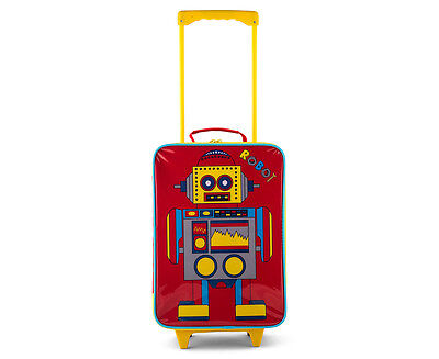 Robot Softshell Luggage - Red