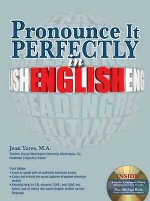 Pronounce It Perfectly in English with Audio CDs by Jean Yates Paperback Book (E