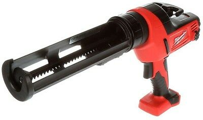 Milwaukee M18 Lithium Ion 18 Volt Cordless Caulk Adhesive Gun