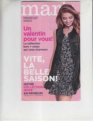LIVING / AVON beauty products French INSERTS 2016