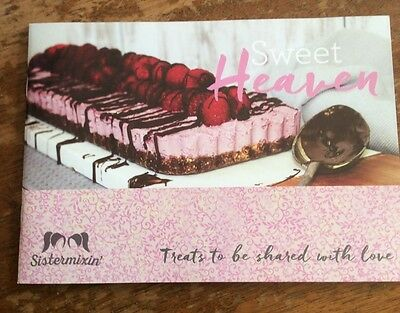 Sistermixin' Sweet Heaven Cookbook -Thermomix Brand New. Free Postage