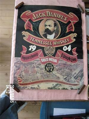 1988 JACK DANIEL'S Tennessee Whiskey POSTER