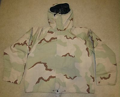 Military Desert Camo Jacket Xlarge Regular Overgarment