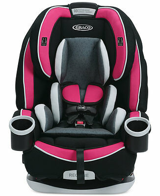 New Graco 4ever All-in-One Convertible BABY Car Seat, Azalea
