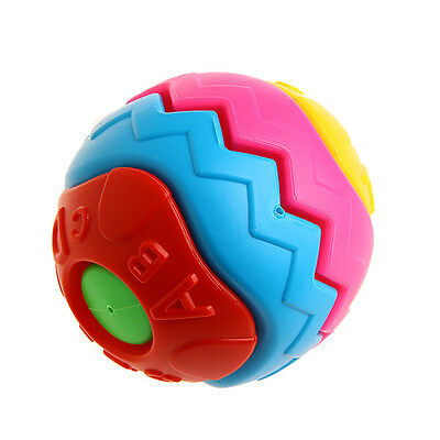 Funny Kids Baby Colorful Grasping Ball Puzzle Assembly Early Educational Toy Hot