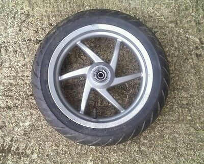 Piaggio nrg 50cc Front wheel and tyre 4mm tread