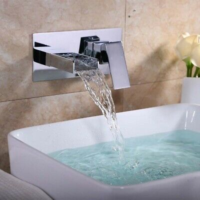 Wall Mounted Chrome Modern And Stylish Concealed Basin Mixer