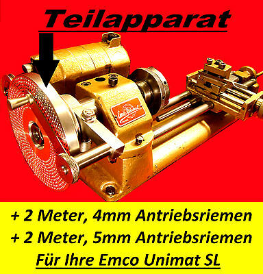 Teilapparat,Emco Unimat SL,Lathe Indexing,Dividing Attachment,Watchmakers Lathe