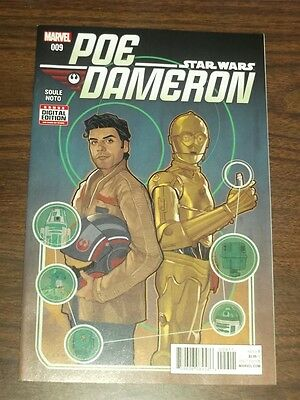 Star Wars Poe Dameron #9 Marvel Comics Nm (9.4)