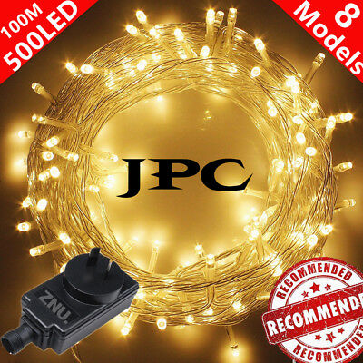 100 Meter 500 LED String Fairy Lights Indoor/Outdoor Xmas Christmas Party