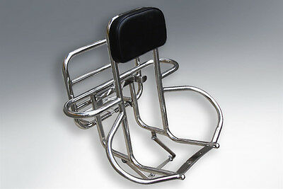 Lambretta Backrest Rack 4 In 1 Uprated 3 In 1 Stainless Series 3 & Gp