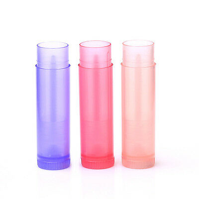 5/10pcs Lip Balm empty bottle tube 5 ml of plastic tubes Colorful Lipstick 5g
