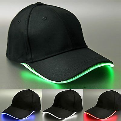 LED-Leuchtcap Damen Herren LED Basecap Licht LED-Fashion Basecap Cap Party Nacht