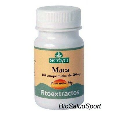 Maca Andina Sotya  500 Mg. 100 Compr. / Mejora Tu Salud Sexual  So3253