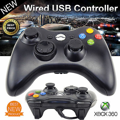 New Wired USB Game Pad Controller For Microsoft Xbox 360 PC Windows 7 8 10 XP