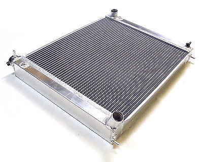 Universal Dual Core Alloy Radiator Rad Core Size 500mm x 456mm x 56mm 36mm Inlet