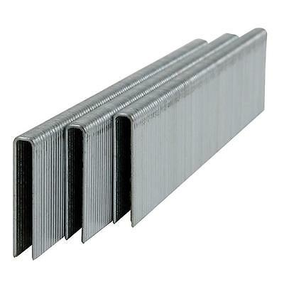 "L Staples L12 Galvanized Steel 18 gauge 1/4"" crown - 7/8"" length (5000 ct)"
