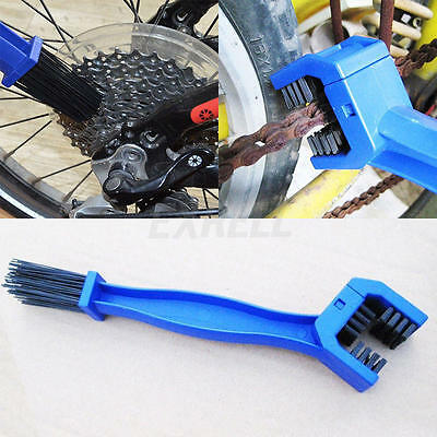 Portable Cycling Bike Motorcycle Chain Cleaning Tool Gear Grunge Brush Cleaner
