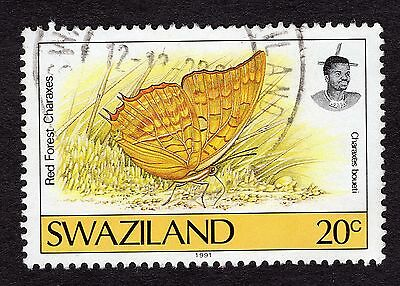 1992 Swaziland Butterflies Charaxes boueti SG 609 FINE USED R29953