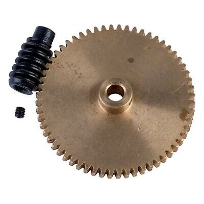 Reely Brass Gear and Steel Worm Drive Set 1:60 (5mm and 4mm bores)
