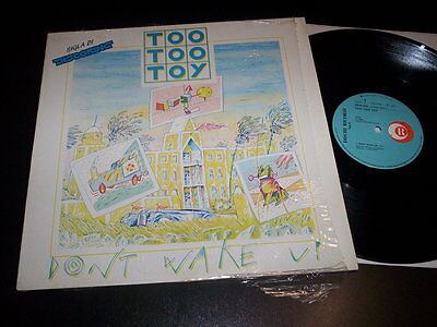 "Too Too Toy ‎""Don't Wake Up"" 12"" Ricordi ‎– SRLM 2042 Italy 1984 ITALODISCO"