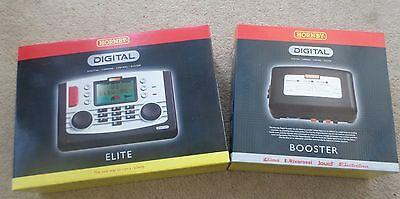 Used, HORNBY Elite R8214 Controller & NEW Power & Signal Booster R8239
