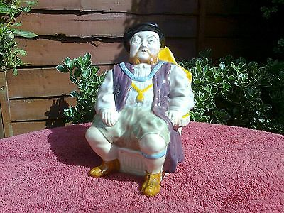 King Henry VIII (the Eighth) Melba Ware Toby Jug - Very Good Condition
