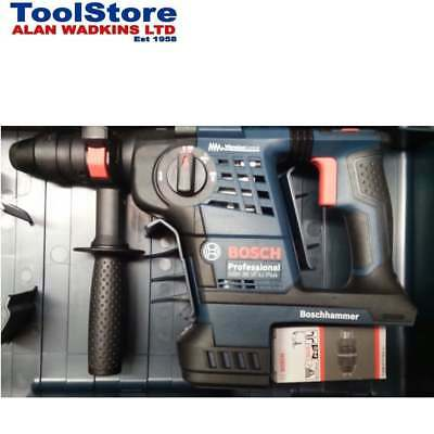 Bosch GBH36VFLI PLUS 36v Cordless Sds Rotary Hammer Drill Body Only + Chuck
