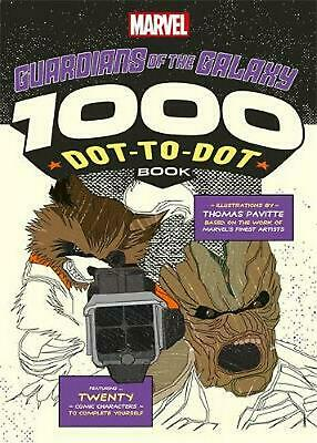 Marvel's Guardians Of The Galaxy 1000 Dot-to-Dot Book: Twenty Comic Characters t