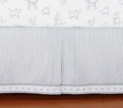 Pottery Barn Kids Organic Reese Baby Crib Skirt - Discontinued Design