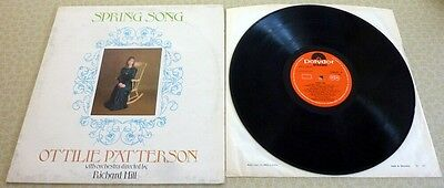 Ottilie Patterson, Spring Song, 1969 Made In England Polydor Record Label Lp.