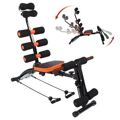 6 In1 Home Exercise Ab Fitness Equipment Wonder Machine Core Gym Workout Trainer