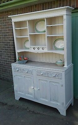 Kitchen dresser large painted