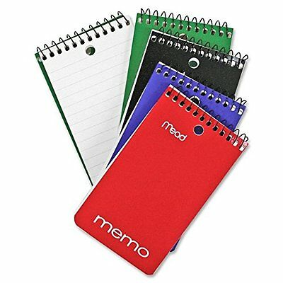 "Mead Writing Pad 3"" X 5"" Small Memo Wirebound Notebook Pad"