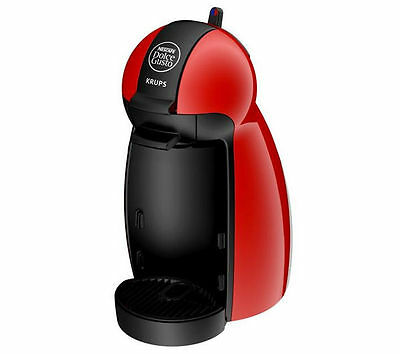 KRUPS Dolce Gusto Piccolo KP100640 Hot Drinks Machine Red