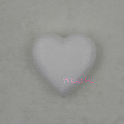 10pcs 35mm Handmade Foam Heart Polystyrene Styrofoam DIY New Decorations Party