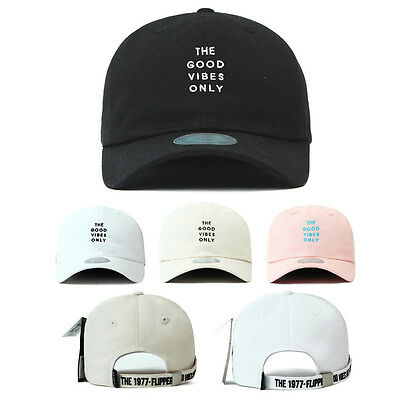 9ad4cca1354 Unisex Mens Flipper Long Tail Strap Good Vibes Only Baseball Cap Adjustable  Hats