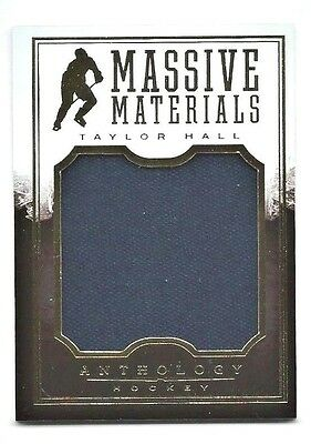 Taylor Hall - 2015/16 Panini Anthology - Massive Materials Jersey # 022/115